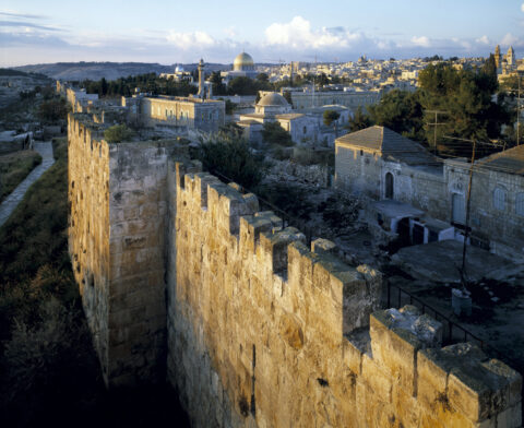 View from Eastern Ramparts, Jerusalem