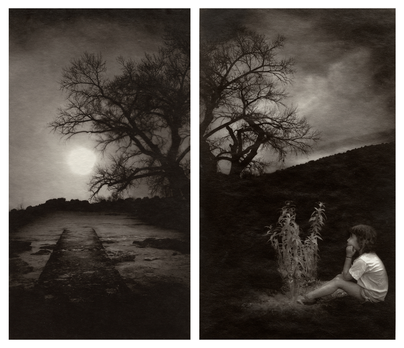 Here nor There 4&8 (diptych)