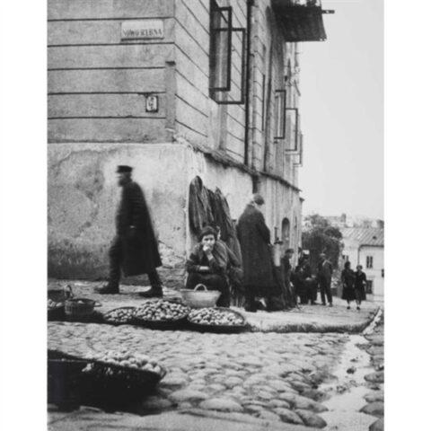 Jewish Corner, Nowo Rybna Street, Lublin, Poland