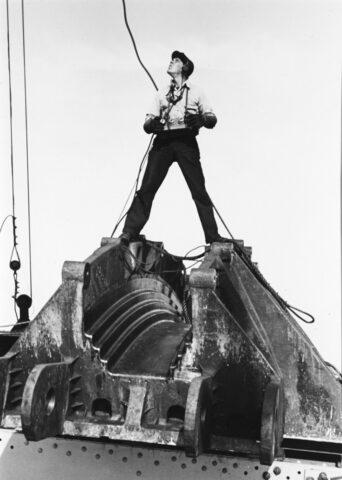 Builder on the Bay Bridge, San Francisco