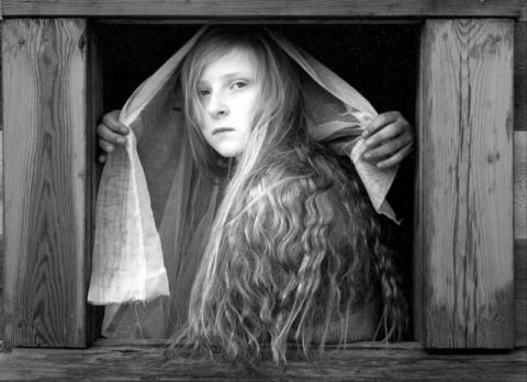 Æsa, the Bride. Bruarasskoli, Iceland