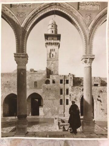 Arch on Temple Mount, Jerusalem