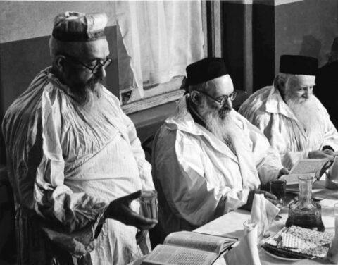 Old world Seder