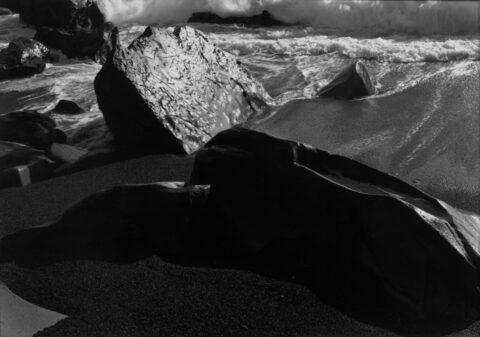 Surf and sea shore, California