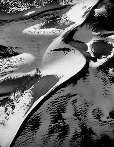 Sand Dunes with Snow #1, Colorado