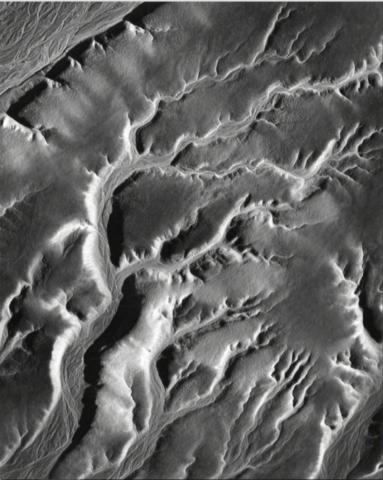 Erosion, Mud Hills, Death Valley, California
