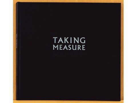 TAKING MEASURE Limited Edition Artist's Book