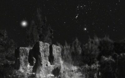 Channeling Ansel Adams, Neil Folberg Photographs the Stars over the Holy Land
