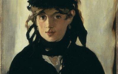 Lucie Rouart, descendant of Berthe Morisot, after portrait by Edouard Manet