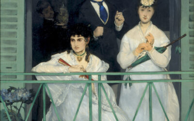 The Balcony, after Edouard Manet