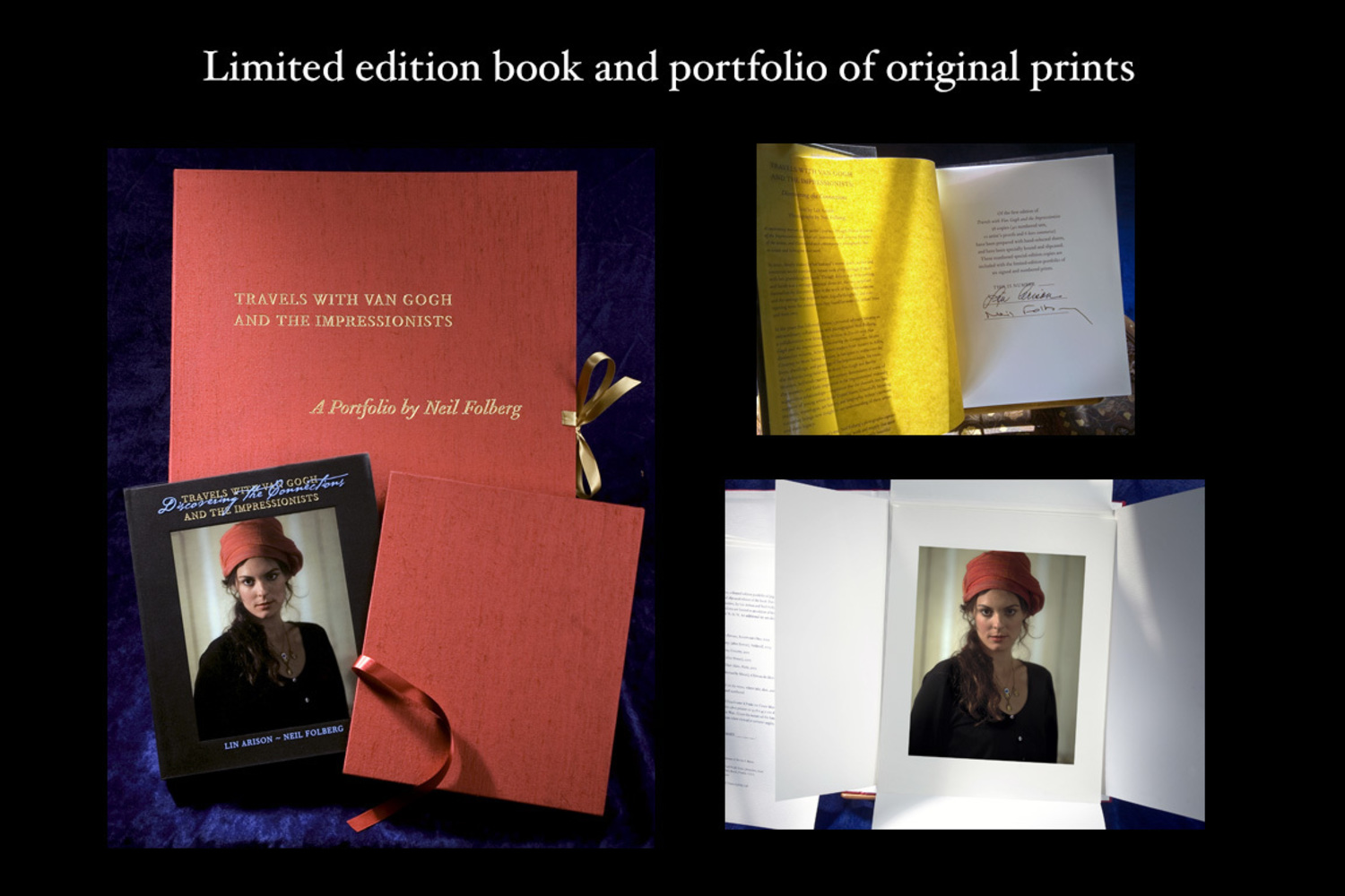 Travels with Van Gogh & the Impressionists (portfolio/special edition book)