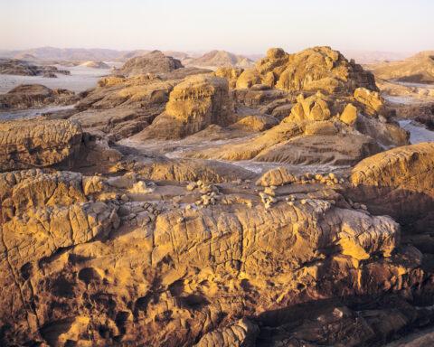 Sandstone, near Ein Khudra, Sinai