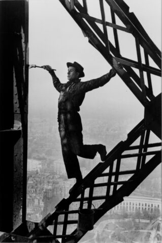 Painter on the Eiffel Tower