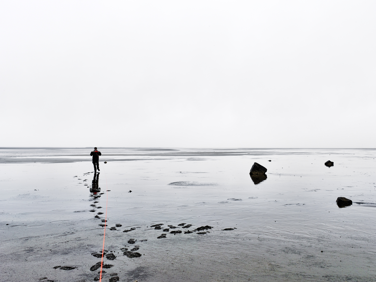 Measuring distance to the horizon from Land's End